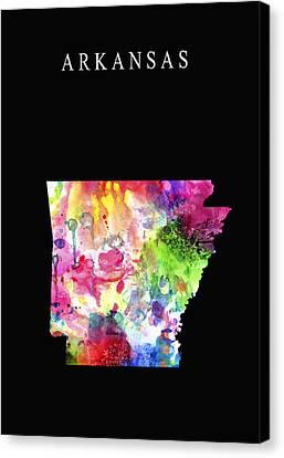 Arkansas State Canvas Print by Daniel Hagerman
