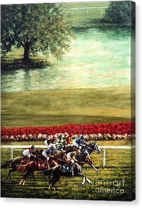 Arlington Park Canvas Print by Thomas Allen Pauly