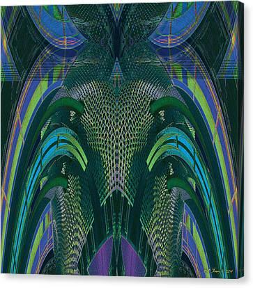 Armadillus Rex Canvas Print by Bill Jonas