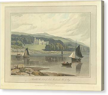 Armidale Canvas Print by British Library