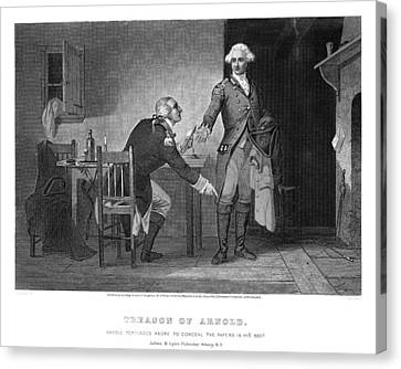 Arnold & Andre, 1780 Canvas Print by Granger