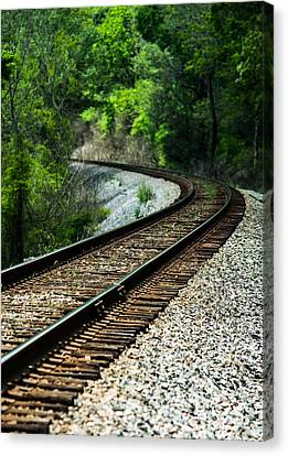 Around The Bend Canvas Print by Parker Cunningham