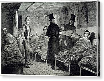 Arrested Canvas Print by British Library
