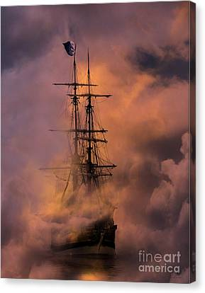 Arrr Canvas Print by Stephanie Laird