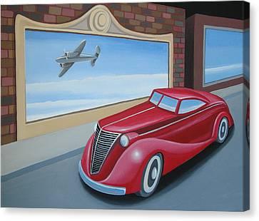 Art Deco Coupe Canvas Print by Stuart Swartz