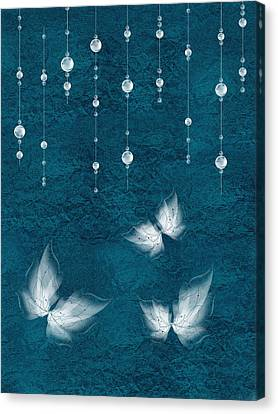 Art En Blanc - S03a Canvas Print by Variance Collections