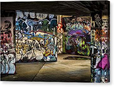Art Of The Underground Canvas Print by Heather Applegate
