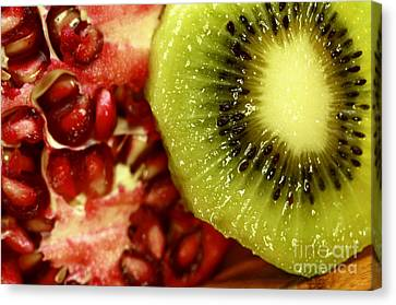Artistic Moments With Food Canvas Print by Inspired Nature Photography Fine Art Photography