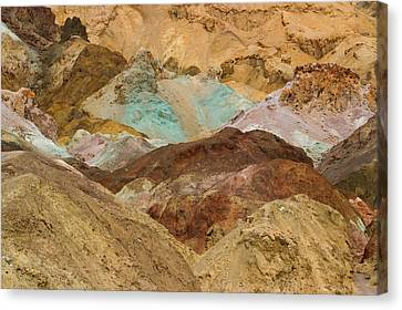 Artist's Paint Palette Abstract Canvas Print by Heidi Smith
