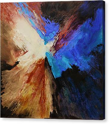 As Kingfishers Catch Fire Canvas Print by Lia Melia