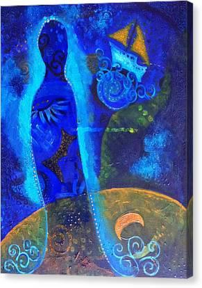 As Of Yet Untitled Dream Canvas Print by Indigo Carlton