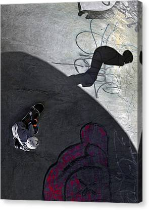 Ashbridges Bay Skate Park Canvas Print by Brian Carson