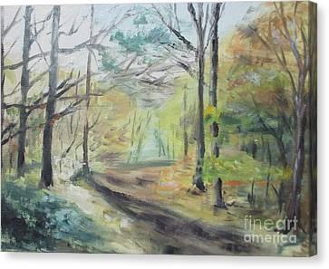 Ashridge Woods 2 Canvas Print by Martin Howard