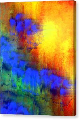 Asian Sunset Canvas Print by Bruce Shannahoff