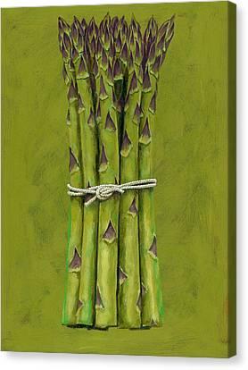 Asparagus Canvas Print by Brian James