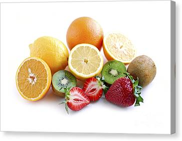Assorted Fruit Canvas Print by Elena Elisseeva
