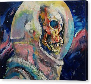 Astronaut Canvas Print by Michael Creese