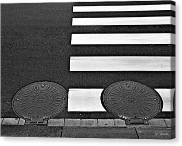 Asymmetric Canvas Print by Joe Bonita