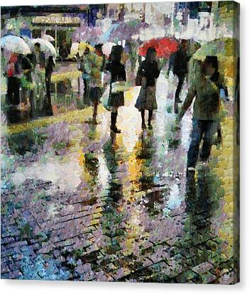 At Last Spring Rain Canvas Print by Gun Legler