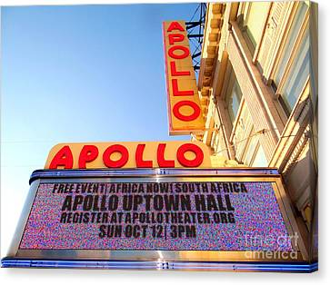 At The Apollo Canvas Print by Ed Weidman