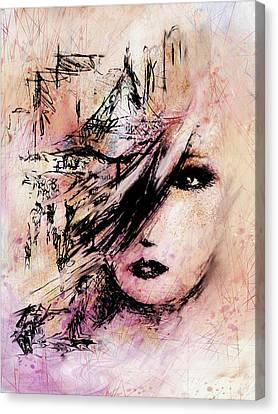 At The Art Festival Canvas Print by Rachel Christine Nowicki