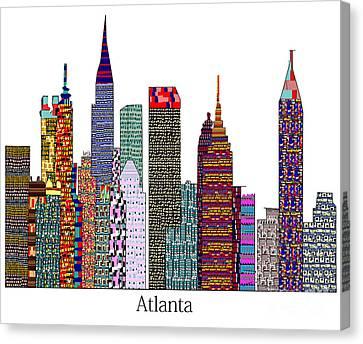 Atlanta City  Canvas Print by Bri B