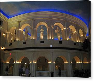 Atlantic City - Casino - 011310 Canvas Print by DC Photographer