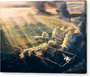 Atlantis Canvas Print by Simon Kregar