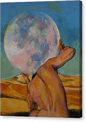 Atlas Canvas Print by Michael Creese