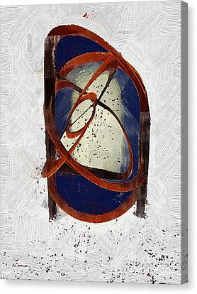 Atomic Truth Canvas Print by RC deWinter