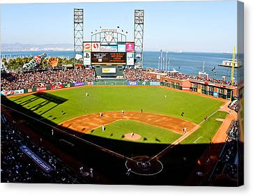 Att Park San Francisco  Canvas Print by John McGraw
