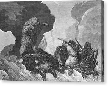 Attack Canvas Print by Julius Prayer