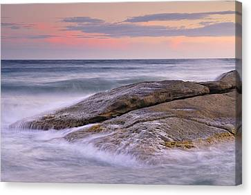 Attack The Waves Canvas Print by Guido Montanes Castillo