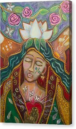 Attunement Canvas Print by Havi Mandell