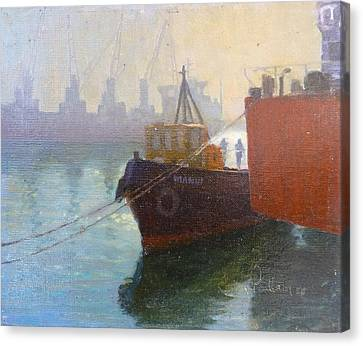 Auckland Morning Canvas Print by Terry Perham