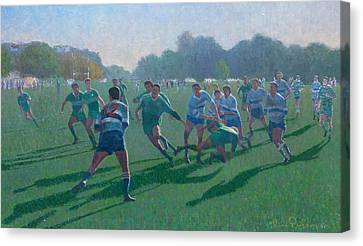 Auckland Rugby Canvas Print by Terry Perham