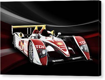 Audi R10 Canvas Print by Peter Chilelli