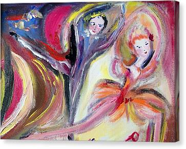 August Romance Canvas Print by Judith Desrosiers