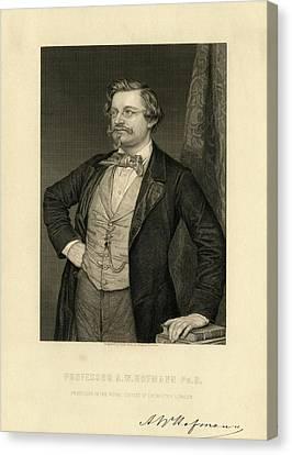 August Wilhelm Hofmann Canvas Print by Chemical Heritage Foundation