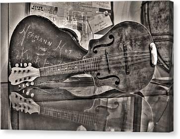 Aunt Pearls Mandolin Canvas Print by William Fields