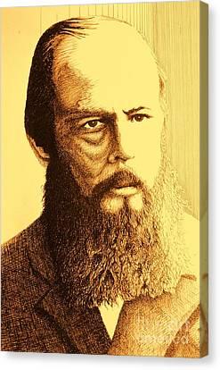 Aura Dostoyevsky Canvas Print by Alejandro Fonck