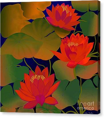 Aura Canvas Print by Latha Gokuldas Panicker