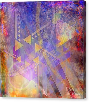 Aurora Aperture - Square Version Canvas Print by John Robert Beck