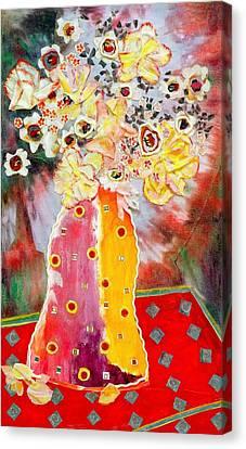 Aurora Borealis Canvas Print by Diane Fine
