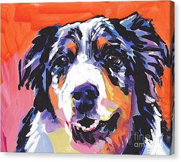Aussie Luv Canvas Print by Lea S