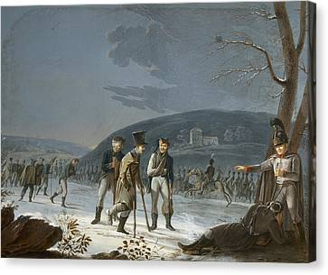 Austerlitz Prisoners Canvas Print by Granger