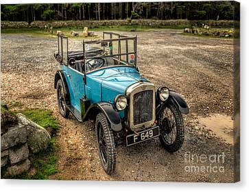 Austin 7 V2 Canvas Print by Adrian Evans