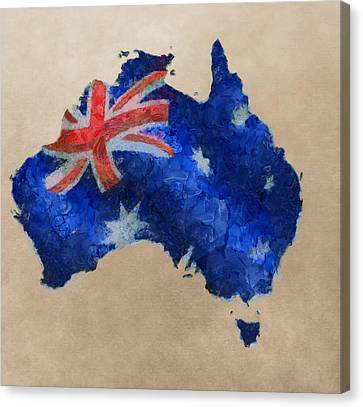 Australia Canvas Print by Dan Sproul