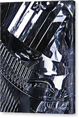 Auto Headlight 10 Canvas Print by Sarah Loft