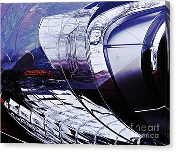 Auto Headlight 154 Canvas Print by Sarah Loft